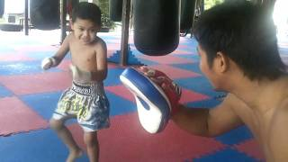 4 Year Old Muay Thai Fighter In Phuket Thailand