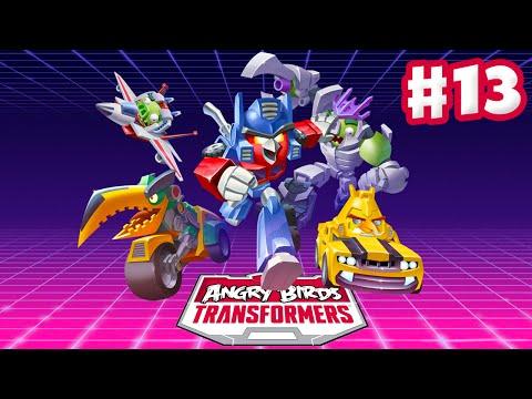 Angry Birds Transformers - Gameplay Walkthrough Part 13 - Energon Lockdown Rescued! (iOS)