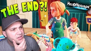 WHAT DOES THIS ENDING MEAN? | Hello Neighbor Hide And Seek (Ending)