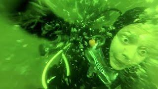 Nurek cierpi na atak paniki i zrywa maskę 15 metrów pod wodą