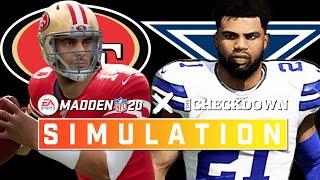 Dallas Cowboys vs. San Francisco 49ers Week 15 Full Game | Madden 2020 Season Simulation by NFL