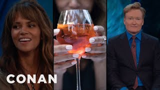Halle Berry and Channing Tatum are in disagreement about what Conan's boozy nickname should be. More CONAN...