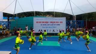 Đội cổ động tiểu học Nguyễn Thái Bình Q1 - 2014