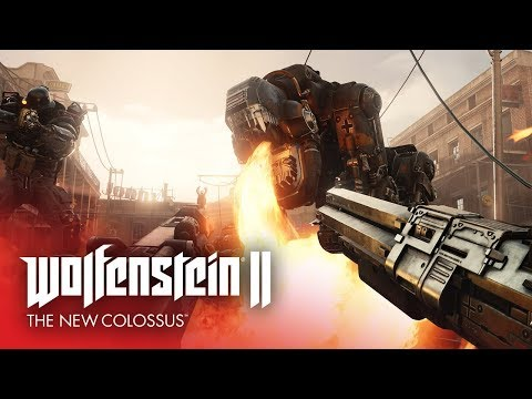 геймплей Wolfenstein II: The New Colossus