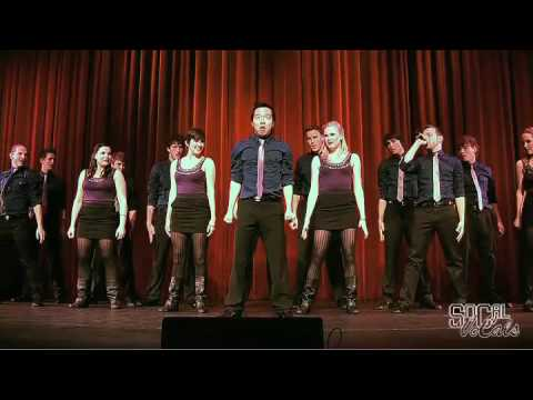 Socal - The SoCal VoCals, from the University of Southern California, performing Stevie Wonder's 