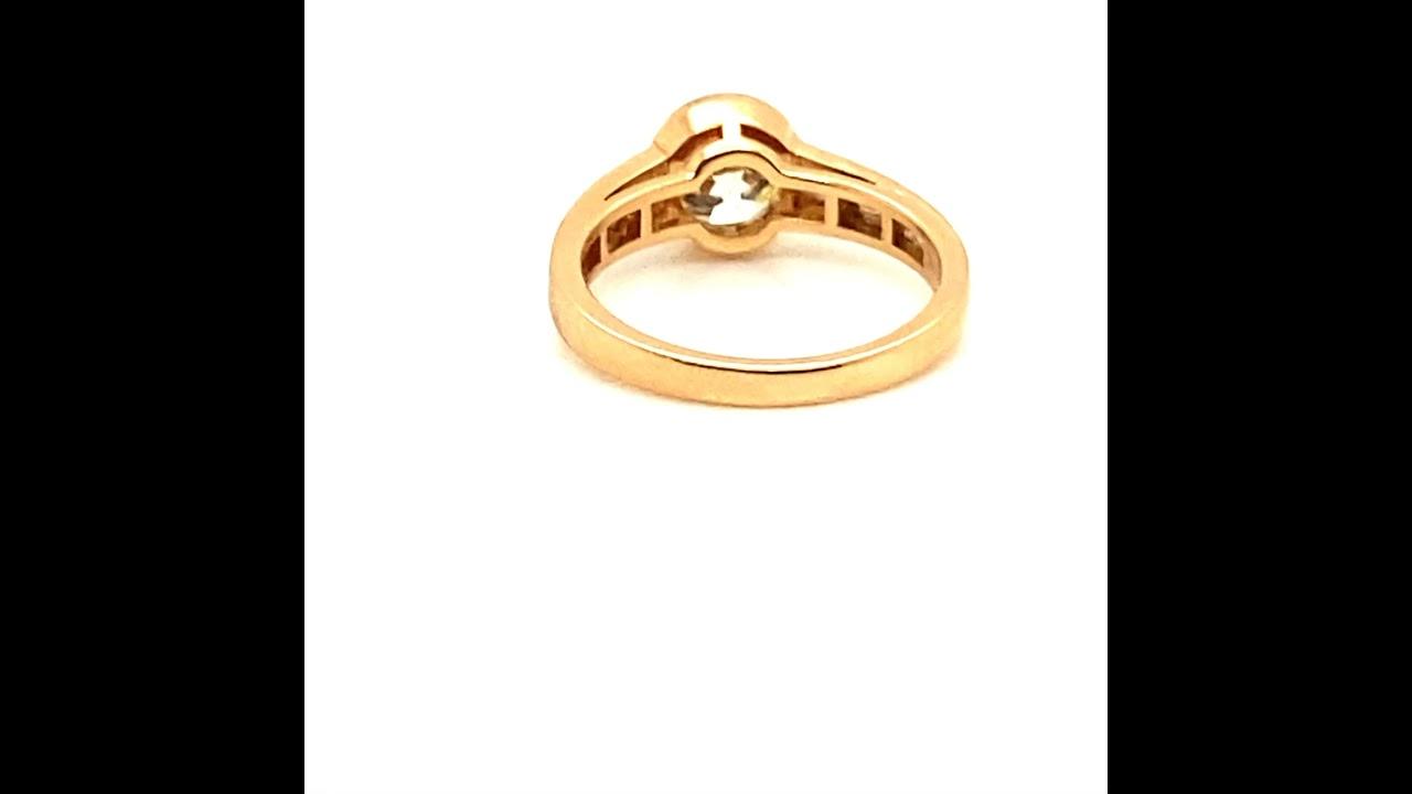 Christina Old European Cut Engagement Ring
