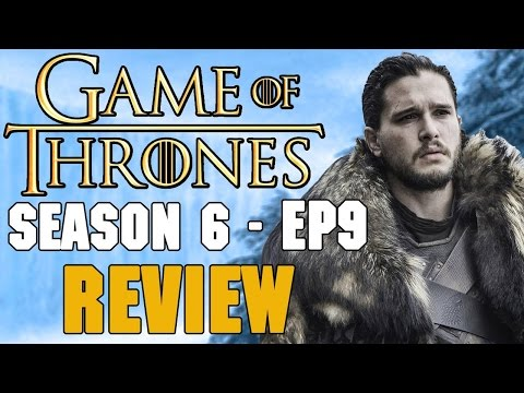 Game of Thrones Season 6 Episode 9 Review - Ramsay ' Mad Dog' Bolton VS Jon ' Knows Nothing' Snow!