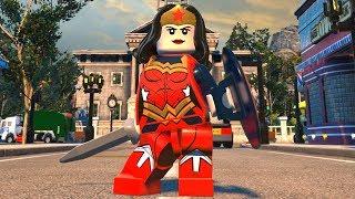 LEGO DC Super-Villains - Wonder Woman (New 52) - Open World Free Roam Gameplay (PC HD) [1080p60FPS]