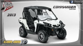 6. COMMANDER 1000 LIMITED 2013 can-am BRP SIDE BY SIDE en ENOC.TV