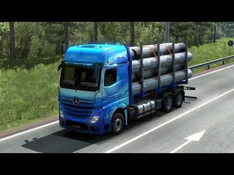 Mercedes Benz New Actros 2019 by Actros 5 Crew v1.5