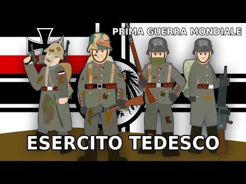 La STORIA dei SOLDATI TEDESCHI nella Prima Guerra Mondiale