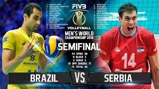 Video Brazil vs. Serbia | SEMIFINAL |  World Championship 2018 MP3, 3GP, MP4, WEBM, AVI, FLV November 2018