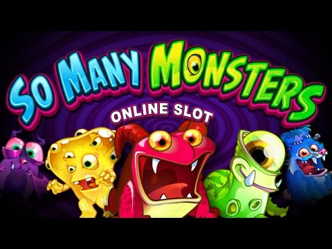 So Many Monsters Video Slot - Roxy Palace