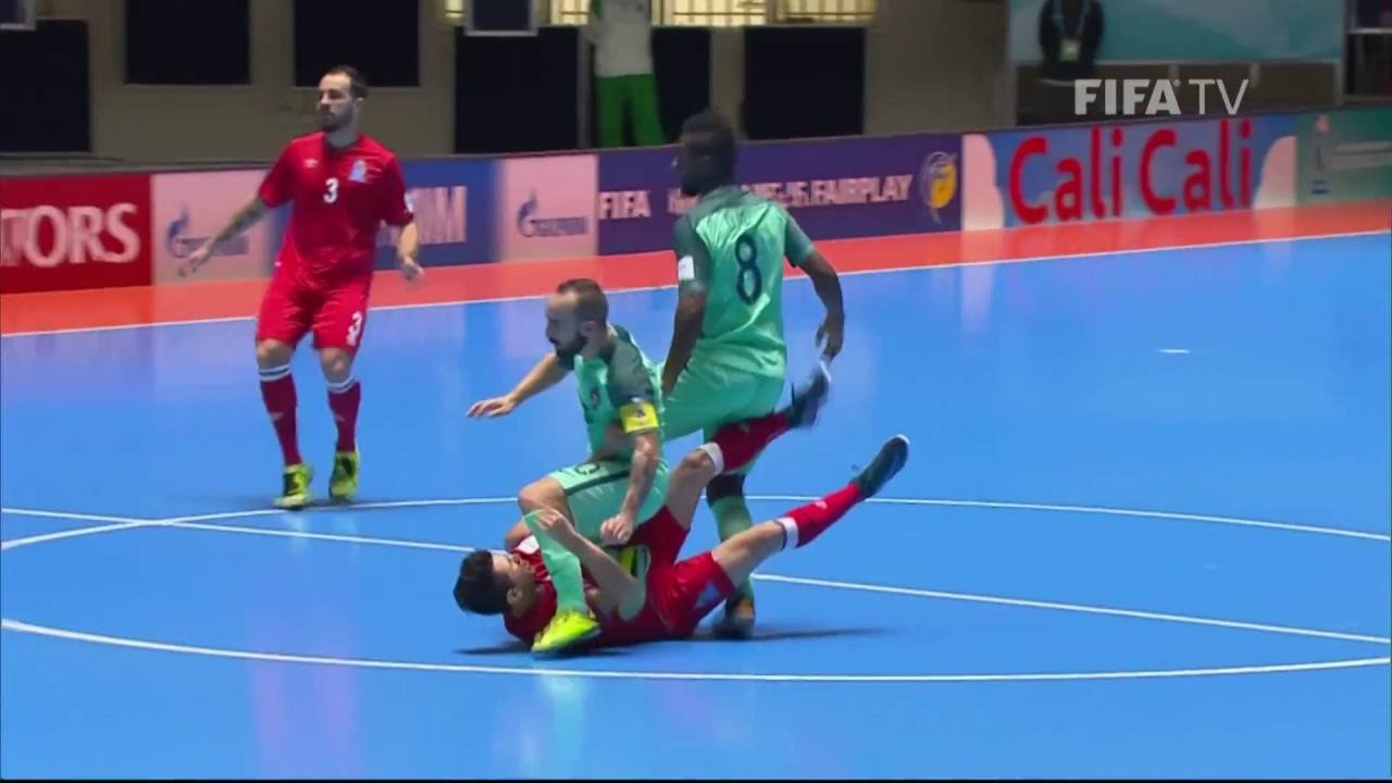 Match 48: Azerbaijan v Portugal – FIFA Futsal World Cup 2016