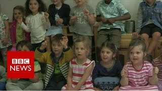 How do you get ready... for BIG school? Children get ready for the next step - and describe their expectations.Video Journalist: Jan Bruck Please subscribe HERE http://bit.ly/1rbfUogWorld In Pictures https://www.youtube.com/playlist?list=PLS3XGZxi7cBX37n4R0UGJN-TLiQOm7ZTPBig Hitters https://www.youtube.com/playlist?list=PLS3XGZxi7cBUME-LUrFkDwFmiEc3jwMXPJust Good News https://www.youtube.com/playlist?list=PLS3XGZxi7cBUsYo_P26cjihXLN-k3w246