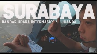Download Video SURABAYA From CGK - by Captain Vincent Raditya ( BATIK AIR PILOT ) - Cockpit Video MP3 3GP MP4