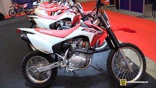 9. 2015 Honda CRF 150F - Walkaround - 2015 Salon Moto de Montreal