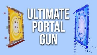 How to Get the Ultimate Portal Gun in Minecraft