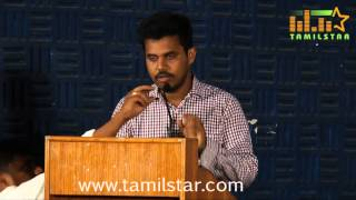 Sarabam Movie Press Meet Part 1