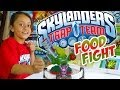 Skylanders Trap Team: Meet FOOD FIGHT (Exclusive Gameplay w/ New LIFE Core Character!)