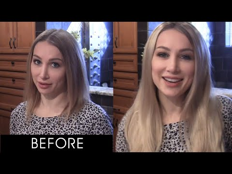 How to Blend Hair Extensions with Hair Topper Naturally