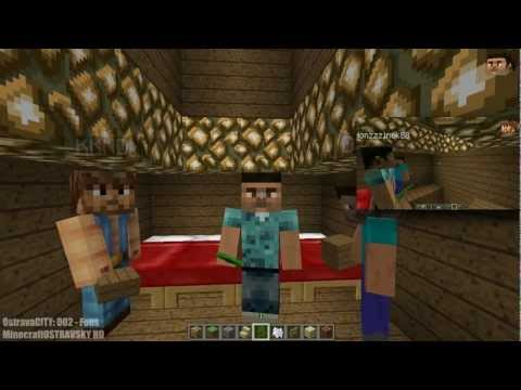 Český Build CITY | Minecraft MP 1.3.2 | OstravaCITY 002 | Fous [PiP][HD]