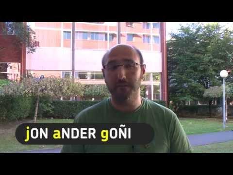 """Jon Ander Goñi: """"lan-harremanak"""""""