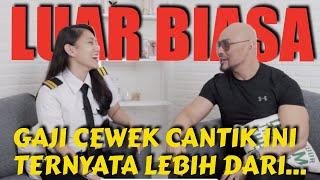 Download Video KAGET DENGER GAJI NIH CEWEK.. GEDE BGT! (Athira Farina Pilot Wanita VIRAL) MP3 3GP MP4