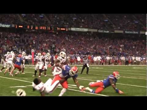 Teddy Bridgewater Gets HIt by Jon Bostic in 2013 Sugar Bowl