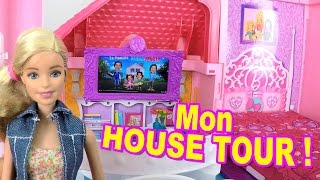 Video HOUSE TOUR - BARBIE nous fait visiter sa MAISON de LUXE ! MP3, 3GP, MP4, WEBM, AVI, FLV Mei 2017