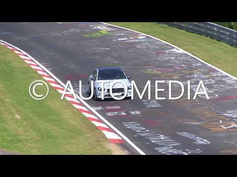 Yeni Mercedes CLA'yı Nürburgring'de test edilirken yakaladık