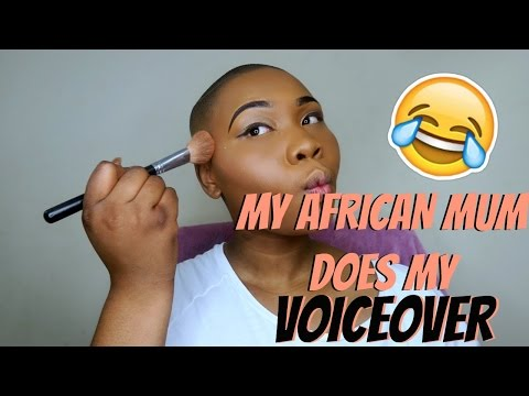 MERCY DIOSA | MY AFRICAN MUM DOES MY VOICEOVER  (ENGLISH VERSION)