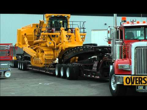 komatsu - Check out my videos from Bauma 2013, the biggest construction show in the world. https://www.youtube.com/watch?v=nX1JfYfFATc Big Komatsu dozer getting moved ...