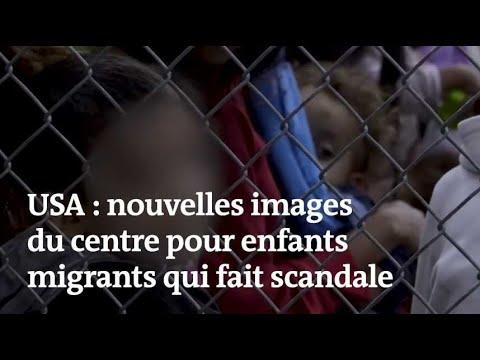 Etats-Unis : de nouvelles images du centre pour enfants migrants qui fait scandale