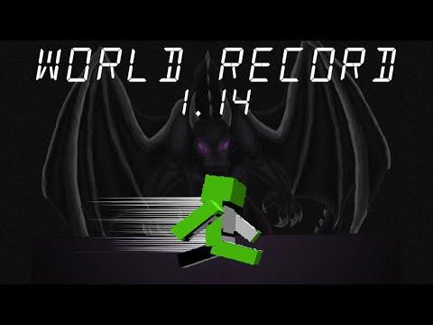 Minecraft Speedrun World Record 1.14