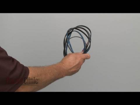 Belt Replacement (part #341241) – Whirlpool/ Kenmore Electric Dryer Repair