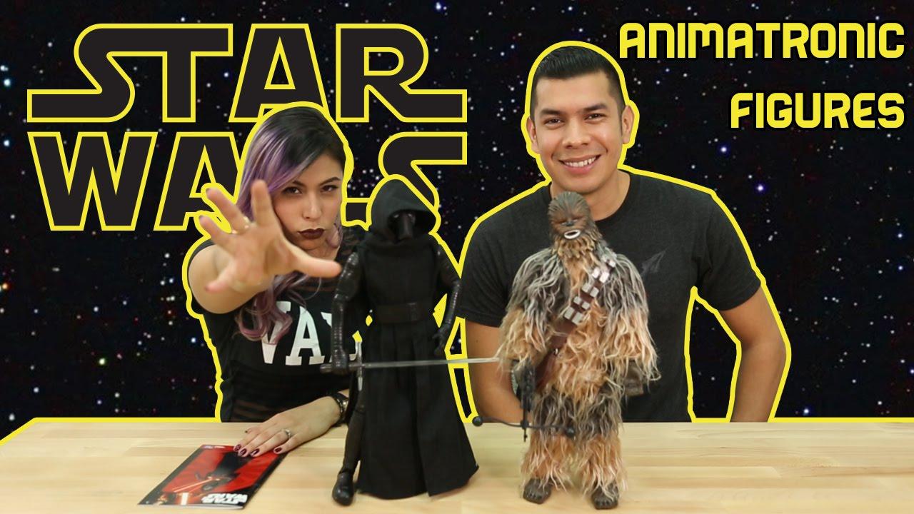 Star Wars Animatronic Figures – KYLO REN & CHEWBACCA