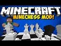 Minecraft MineChess Mod: CHESS IN MINECRAFT!!! (HD)