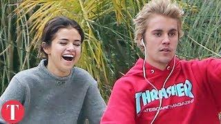 Video Selena Gomez, Justin Bieber And The Weeknd's Love Triangle | Talko News MP3, 3GP, MP4, WEBM, AVI, FLV Juni 2018