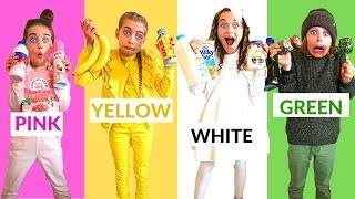 Video LAST TO STOP EATING THEIR COLORED FOOD CHALLENGE w/ The Norris Nuts MP3, 3GP, MP4, WEBM, AVI, FLV Juni 2019