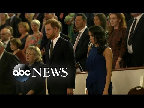 Meghan Markle, Prince Harry Make Royal Baby Announcement