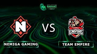 Nemiga Gaming vs Team Empire - RU @Map3 | Dota 2 Tug of War: Radiant | WePlay!