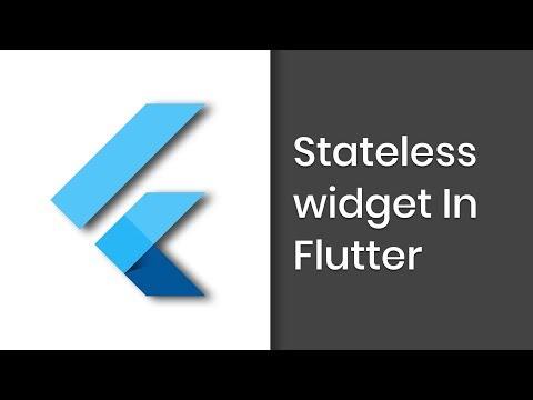 Learn to build Flutter Reactive Framework | Part 2 | Stateless Widget | Eduonix