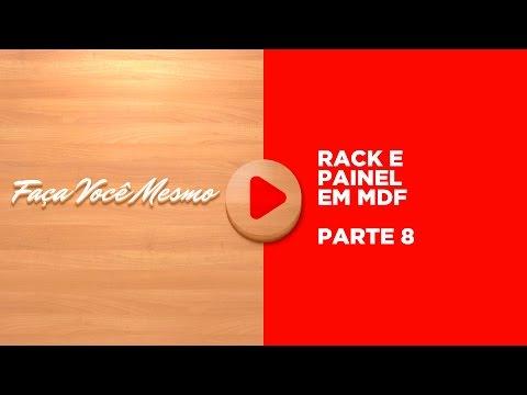 Curso Rack 1 - Aula 08/13 - Rack MDF - Montar Gaveta - Corrediça Telescópica - Curso Grátis