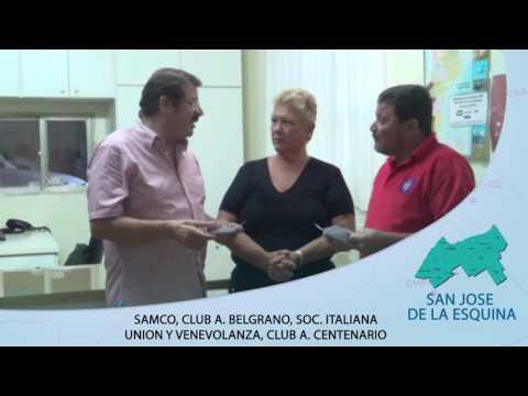 Rosconi junto a distintas entidades de San Jose de la Esquina