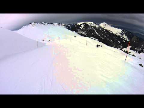 Klewenalp, Schweiz 09.02.2014 - Part 4 (видео)