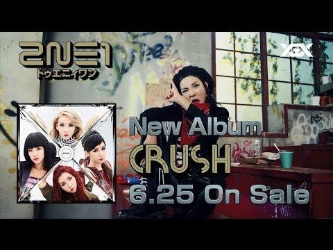 2NE1 - Japan New Album 'CRUSH'  TV SPOT
