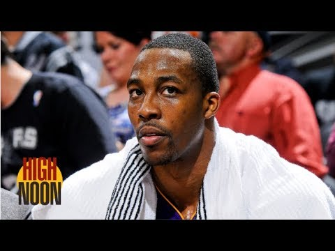 Video: Will Dwight Howard heed the Lakers' warning? | High Noon