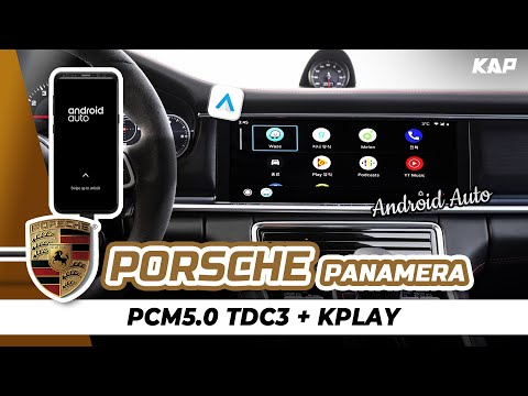 Porsche new Panamera 972 Android Auto 2018~2020 year car