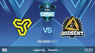 GODSENT vs SSoldiers, game 1